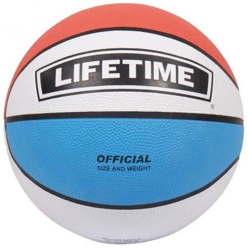 Ballon de Basket Bleu Blanc Rouge