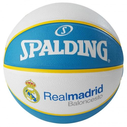 Ballon de Basket Spalding Taille 7 Euroleague Real Madrid