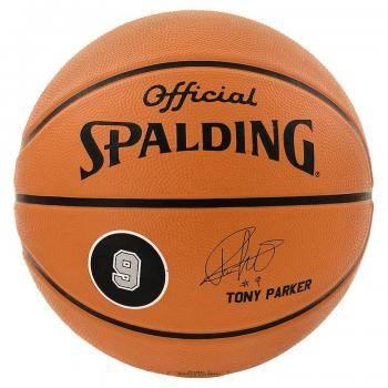 ballon de basket sign tony parker. Black Bedroom Furniture Sets. Home Design Ideas