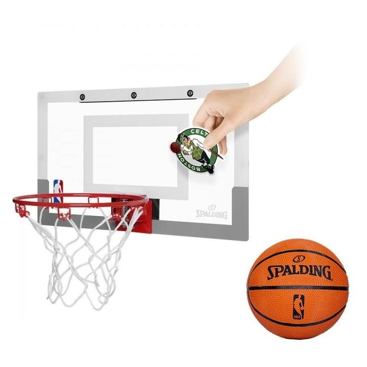Ballon de basket nba slam jam board teams spalding - Panier de basket pour bureau ...