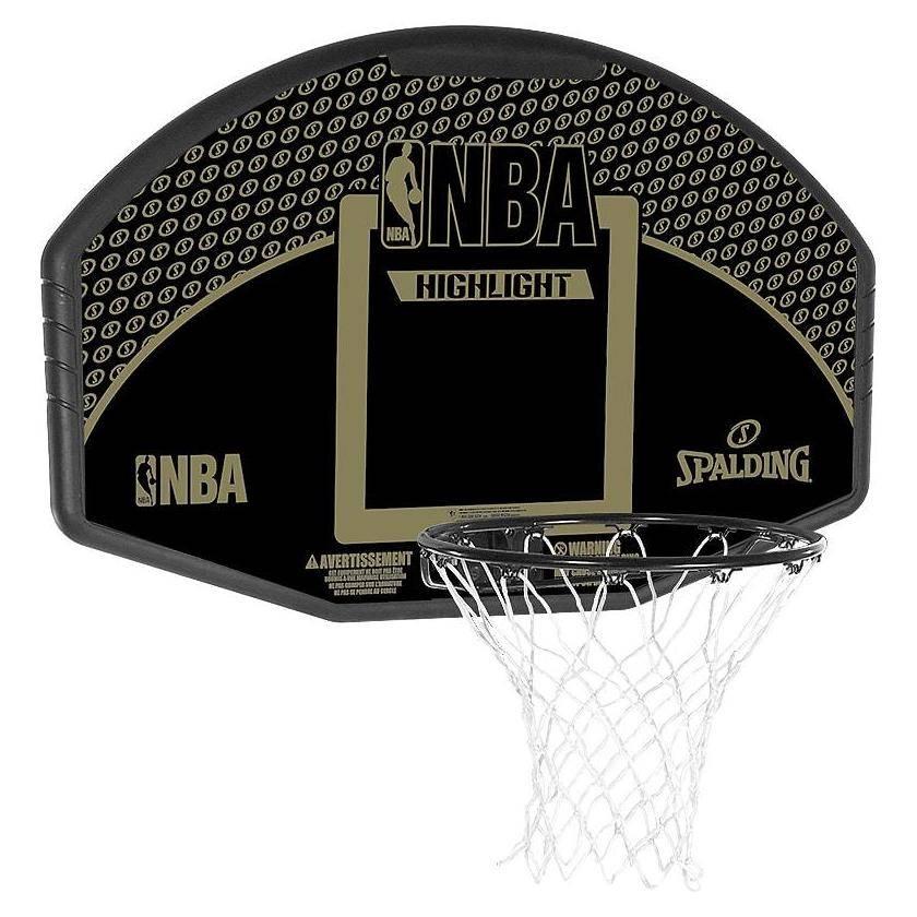 ballon de basket nba fan backboard spalding. Black Bedroom Furniture Sets. Home Design Ideas
