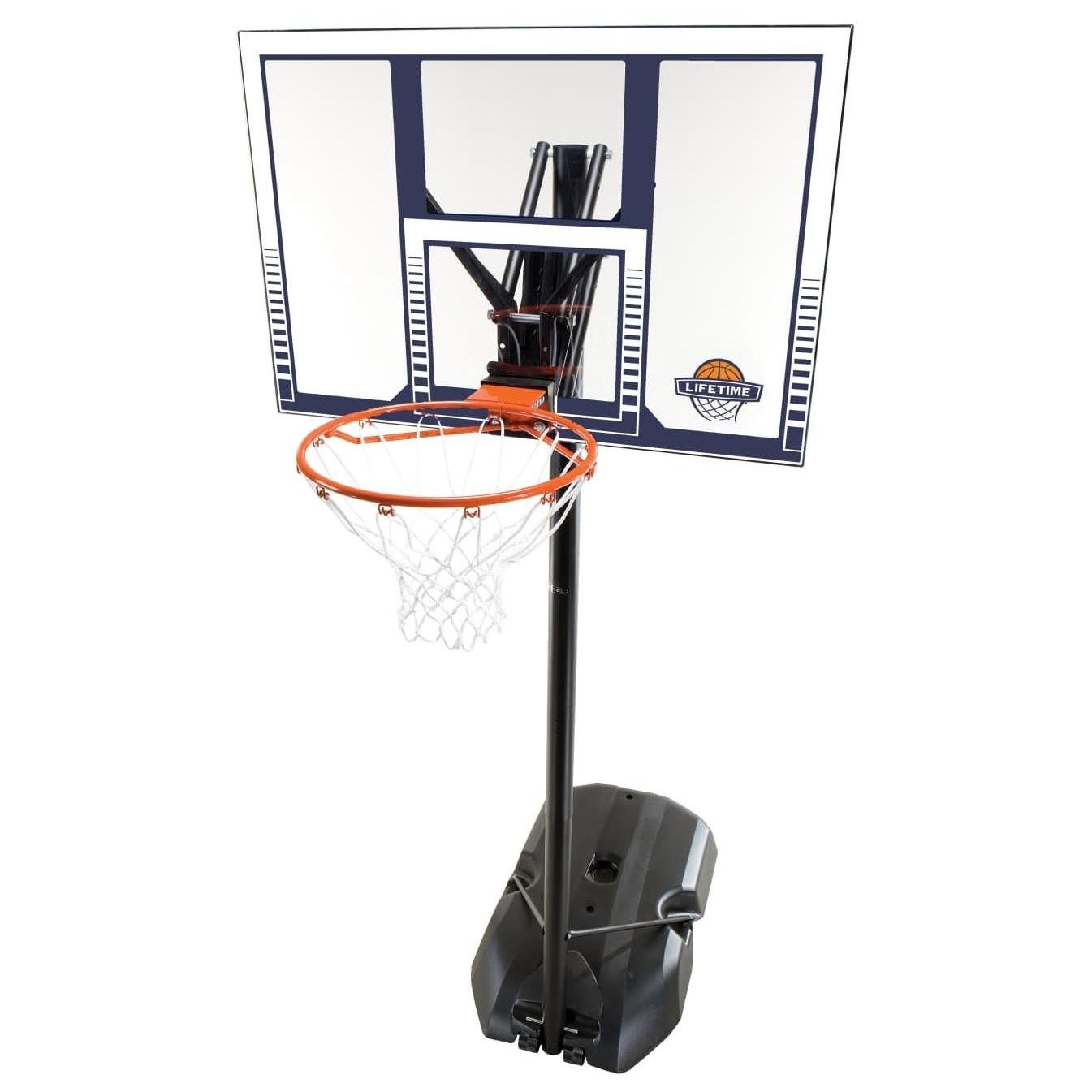 ballon de basket front court 44 dunk lifetime. Black Bedroom Furniture Sets. Home Design Ideas